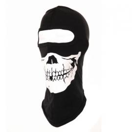 """Bivakmuts zwart doodskop - met """"skull"""" opdruk"""
