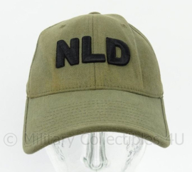KL Landmacht missie baseball cap groen - maat S-M - Noorloos Flexfit - origineel