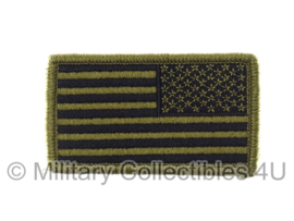 US Army American OCP Flag met klittenband - reversed, regulation - voor multicamo uniform