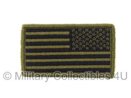 US Army American OCP Flag met klittenband - reversed, regulation - voor multicamo uniform