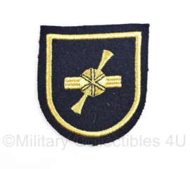 Koninklijke Marine arm embleem - 6,5 x 6 cm- origineel