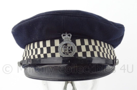 Britse Politie Police platte pet - West Yorkshire Metropolitan - maat 58 - origineel