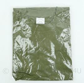 Nederlands leger groen t-shirt korte mouw - merk Dutraco - maat Large - nieuw in verpakking ! - origineel
