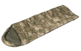 Basic Gear sleeping bag slaapzak met tas - Mil-Tacs FG Forest Green camo