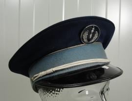 Franse Compagnies Républicaines de Sécurité visor cap  - origineel