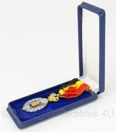 Belgische bekwaam en zedelijkheid zilveren medaille met doosje - Origineel
