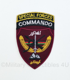 Afghan National Army OEF Special Forces Commando Corps patch - 9 x 6 cm