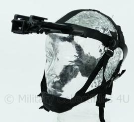 US Army en Nederlandse leger nachtkijker Night Vision Head Mount draagstel met bajonetsluiting - verstelbare maat S t/m L - origineel