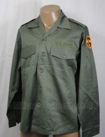 US uniform met, of zonder  insignes - 15,5x31= nl 41 of 16,5x34=nl 43)- origineel US Army