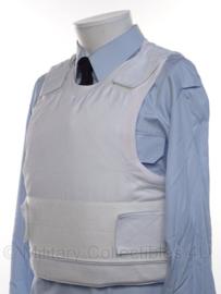 Nederlandse Politie kogel- en steekwerend vest hoes met inhoud Model BSST PM6 - merk BSST - M / L - origineel