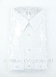Koninklijke Marine wit DT overhemd met lange mouw 1982- nieuw in verpakking! - maker Kerko - maat 39 - origineel
