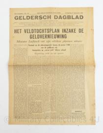Krant Geldersch Dagblad 27 september 1945 - origineel