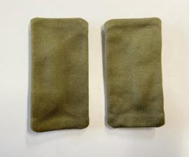 KL Nederlandse leger GVT epauletten paar GROEN - zonder rang - origineel