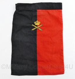 Nederlands leger halsdoek Opleidingscentrum Artillerie  - rood/zwart -  origineel