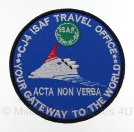 ISAF embleem - CJ4 ISAF Travel Office - origineel