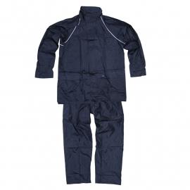 Regenpak - jas met broek - Maat L of XXL - Donkerblauw