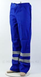 Nieuwe werkbroek blauw met reflectie - merk HAVEP 3M- maat 52- origineel