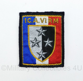 Frans embleem 1C.A. VI RM -  origineel