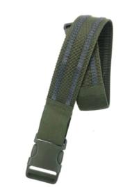 Leg strap beenriem legstrap - nieuw gemaakt - GREEN