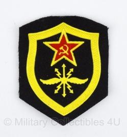 Russisch USSR embleem verbindingen - 8 x 6,5 cm. - origineel
