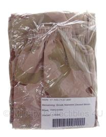 KL regenbroek Goretex - Desert - bilaminaat maat 7585 / 8090 - Nieuw in de verpakking! - origineel