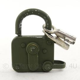 ABUS hangslot voor bijv toolbox - met 2 sleutels - 4,5 x 7  cm - origineel