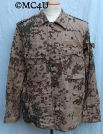 BW Bundeswehr Desert uniform jas - lengte 175-185 en borstomtrek 90 cm.   - origineel