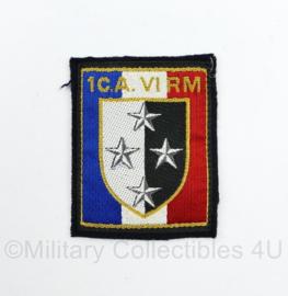 Franse leger 1C.A VI RM Regiment 1e Corps embleem - 7,5 x 6 cm - origineel