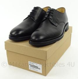 KMAR Koninklijke Marechaussee DT schoen man Derdy zwart kort model zwart met rubberen zool Day & Night zool - NIEUW IN DOOS  - meerdere maten , size 7,5 tm. 12,5 - origineel