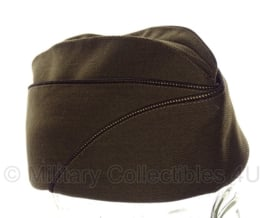WO2 US officer schuitje officers Overseas cap Garrison cap Chocolate - replica