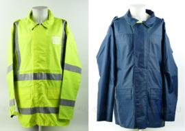 Jacket Reversible High Visibility General Purpose parka omkeerbaar met reflecterende strepen - fluorgeel/blauw - NIEUW in verpakking - meerdere maten - origineel