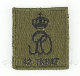 KL 42 TKBAT embleem - met klitteband - origineel