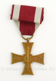 Poolse leger cross of valor medaille 1944 - Moskow made - origineel