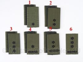 KL set Rangen gevechtstenue GVT DESERT Zwart/groen OFFICIEREN - origineel