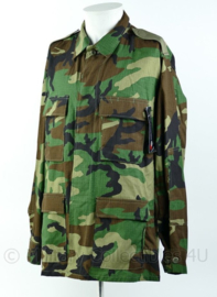 Korps Mariniers Vroeg Model Woodland BDU Jas maker US Propper - Medium Regular - nieuw - Origineel