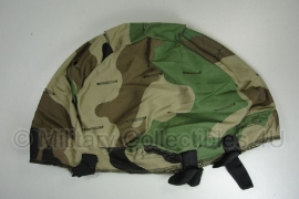 US Army PASGT kevlat helmet woodland helmovertrek replica