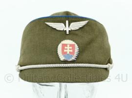 Tsjechische luchtmacht muts met insigne - licht gedragen - maat 58 - origineel