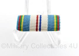 Nederlandse leger medaille baton Herinneringsmedaille  VN Vredesoperaties HVN6 - 3 x 1 cm - origineel