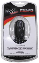 Fox Outdoor hoofdlamp en knijpkat - zwart - met verstelbare hoofdband - nieuw gemaakt