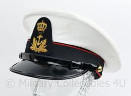 Korps Mariniers Adelborst Korps Adelborsten platte pet - maat 56 - licht gedragen - origineel