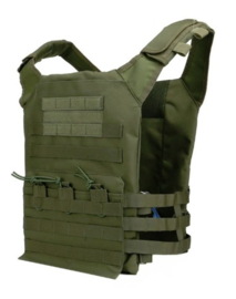 Tactical Warrior JPC plate vest - GREEN