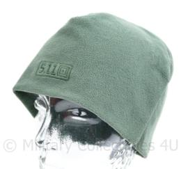 5.11 Wintermuts groen 5.11 Watch cap fleece - ook gebruikt door Defensie en Korps Mariniers - maat L/XL - origineel