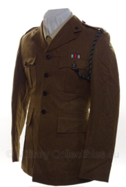 Britse uniform jas Rifle Regiment met insignes  -  origineel