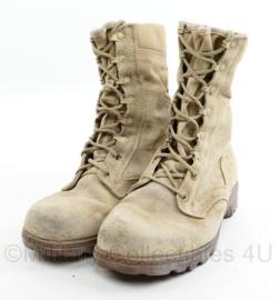 Nederlands Leger Desert kisten - zwaarder gedragen - maat 275B = 43,5 B - origineel
