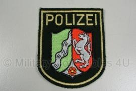 Polizei Nordrhein Westfalen embleem - origineel