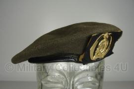 KL Nederlandse leger baret zonder voering - Technische Dienst - maat 57 - origineel