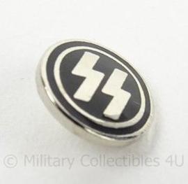 Metalen insigne voor in de handgreep van een SS Dolk SS dagger grip insignia