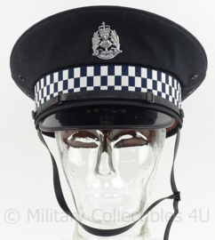 Schotse Politie pet - met insigne Semper Vigilo - maat 57 - origineel