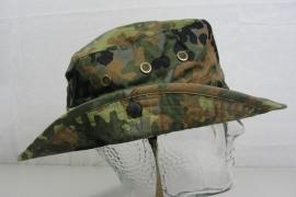 Bundeswehr flecktarn Tropen hoed boonie - 58 cm. -  origineel