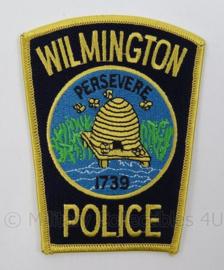 US Wilmington Police patch - afmeting 8 x 11 cm - origineel